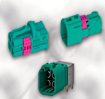 Conector coaxial miniaturizado