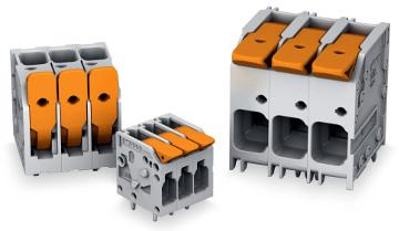 Bornas de potencia para PCB