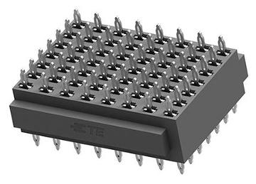 Conector apilado press-fit