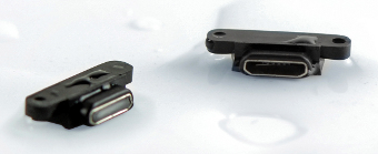 Conector impermeable micro USB