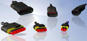 Conectores moldeados y súper-sellados