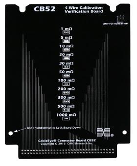 Placa para calibración de 4 cables