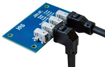 Conectores apantallados y rugerizados de E/S