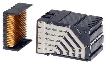 Sistema de conexión para tarjetas backplane
