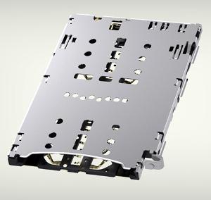 Conectores para tarjetas SIM y microSD