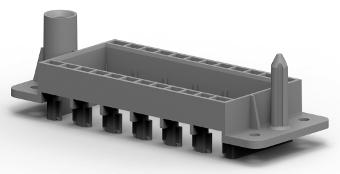 Docking frame termoplástico