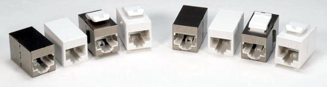 Mini acopladores RJ45 Ethernet