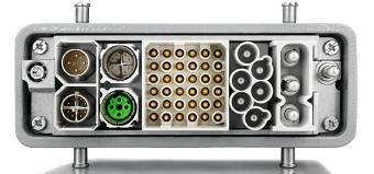 Conectores industriales modulares