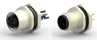 Conectores M8 y M12 apantallados