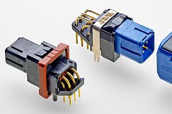 Conectores para montaje sobre PCB