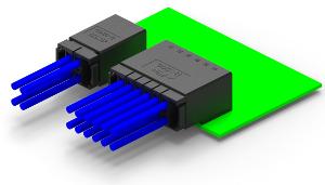 Conectores con encapsulado industrial robusto