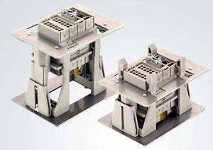 Conector docking con posición de test