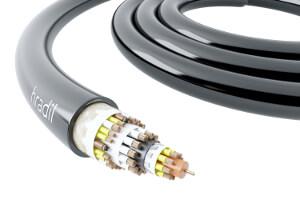Cable coaxial 4.0 para sistemas de revestimiento UV