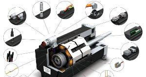 Conectores para motores modulares