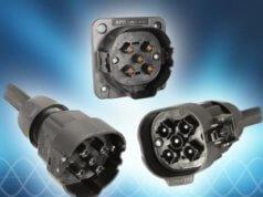 Conector AC trifásico de media potencia