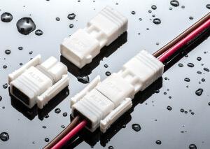 No temen al agua: los conectores de toma con protección IP68. (Fuente: Amphenol Industrial)