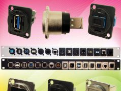 Conectores FeedThrough con huecos de montaje M3