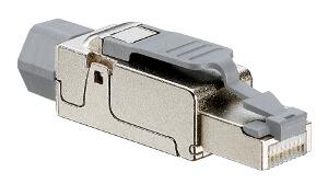 Conector universal Cat 6A apantallado