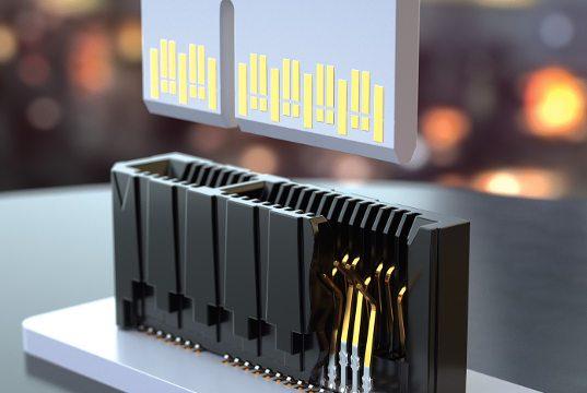 Conectores para tarjetas de interconexión