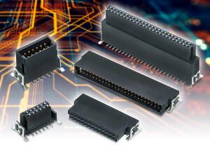 Conectores placa aplaca apilables de alta densidad