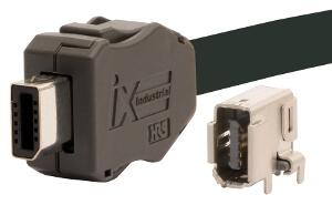conectores compactos Ethernet industrial