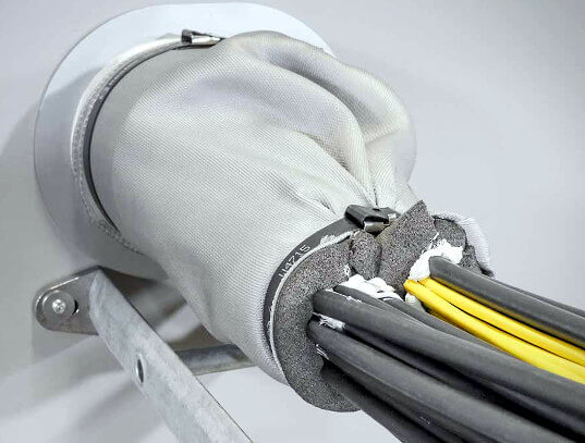 Cortafuegos de cables para aplicaciones marinas