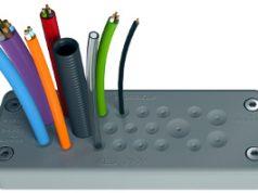 Sistema IP66 para paso de cables