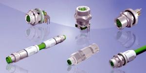 Conectores M8x1 con código-D para Fast Ethernet