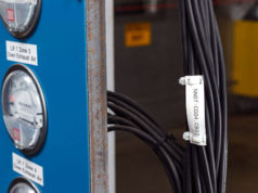 Etiqueta EN-45545-2 para cables en transportes