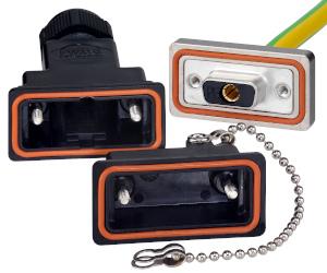 Conectores D-Sub para toma de tierra