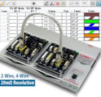 Sistema de chequeo y medición de cables automatizado