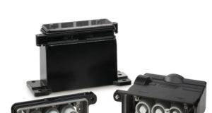 Conectores de elevada corriente para entornos exteriores adversos