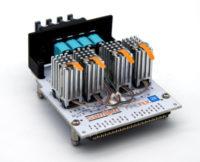 Kits de desarrollo FMC+ VITA 57.4 con motores ópticos