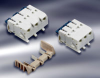 Conectores poke-in de dos piezas