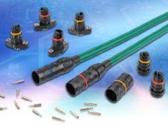 Conectores circulares para sensores