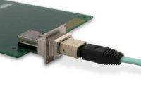 Transceptor óptico para aplicaciones de alta densidad