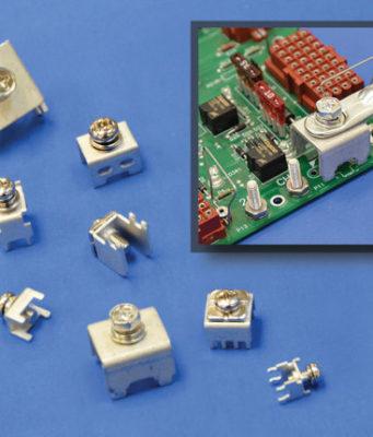 Terminales atornillados para PCB