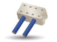 Conectores por desplazamiento de aislamiento de 2,55 mm