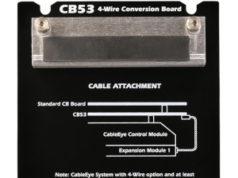 Placa conversora de conectores para medición de resistencia