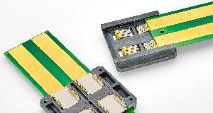Conector deslizante de potencia para servidores