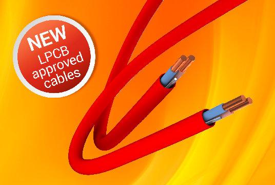 Cables de integridad resistentes al fuego