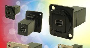 Conectores mini Displayport FeedThrough