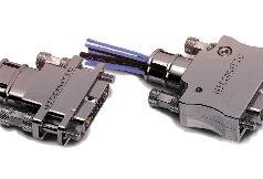 Conectores con carcasa EMC de 360°
