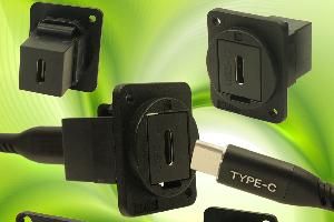 Conectores USB-C reversibles FeedThrough