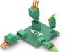 Conectores para PCB con empalme a presión
