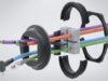Pasamuros modular para cables con clavijas