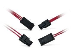 Mini conectores sellados IP67 con paso de 2,5 mm