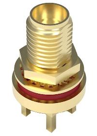 Conectores coaxiales IP67 SMA a 6 GHz