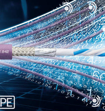 Cables Ethernet de par único para cadenas portacables