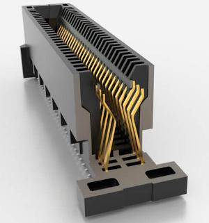 Conector de tarjeta edge con diseño robusto